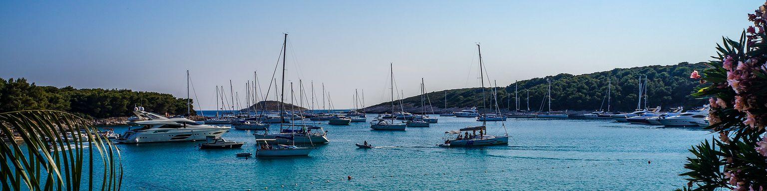 Boats in Hvar