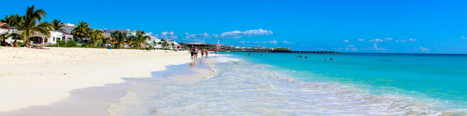 Playa del Carmen, Yucatan, Mexico