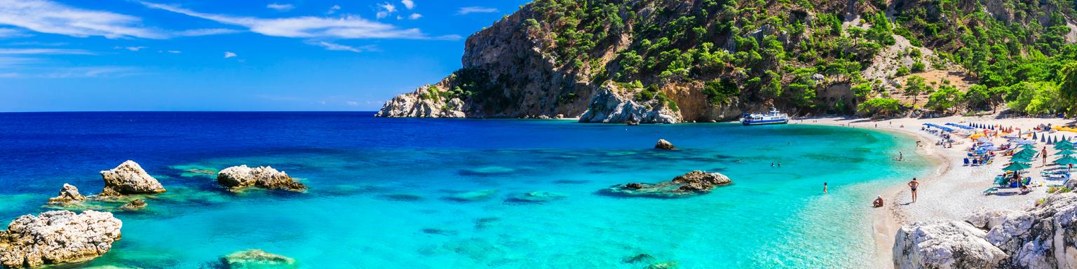Apella Beach in Karpathos Island,Greece.