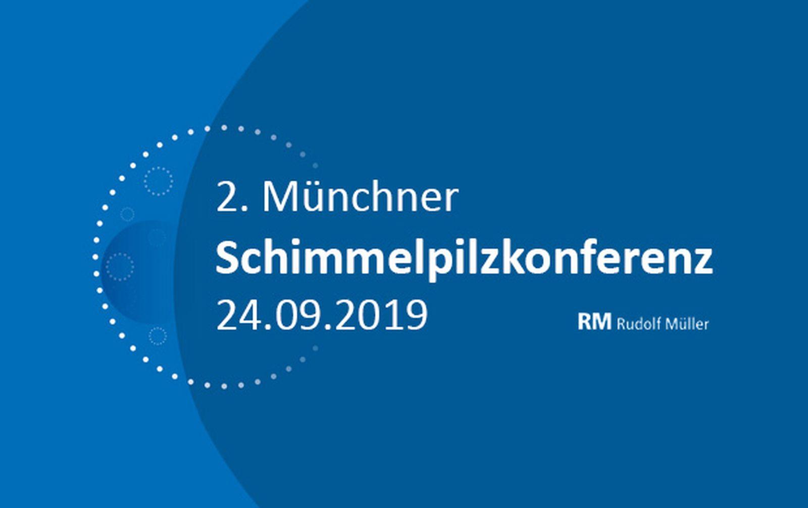 Die GBA als Aussteller auf der 2. Münchner Schimmelpilzkonferenz