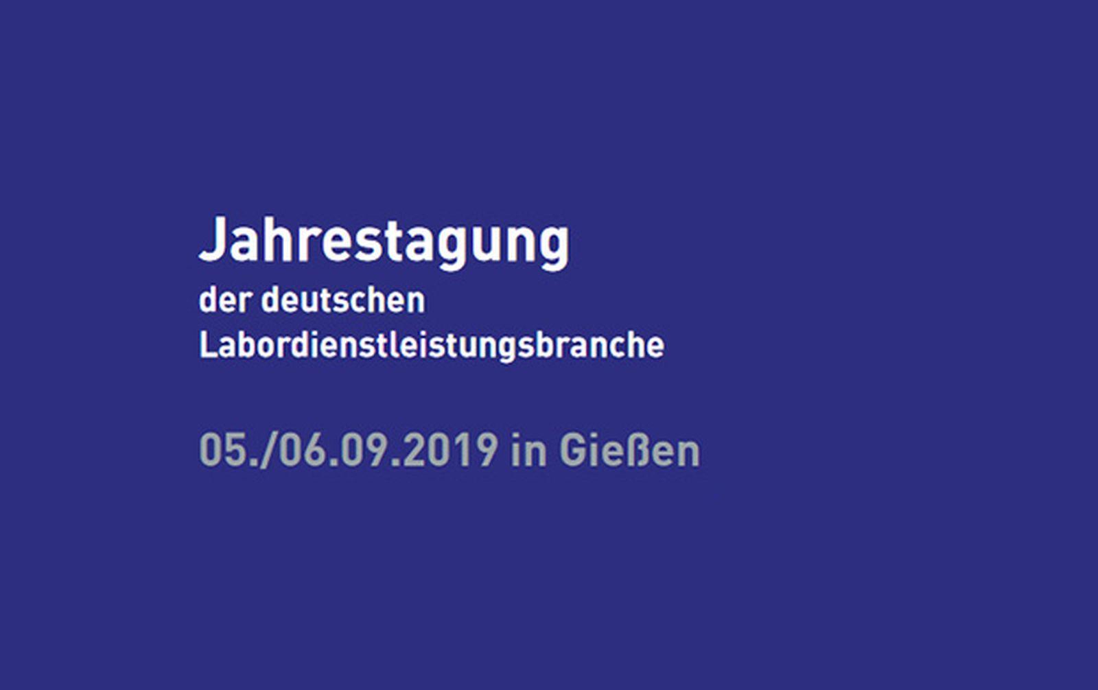 Die GBA auf der Jahrestagung 2019 der deutschen Labordienstleistungsbranche