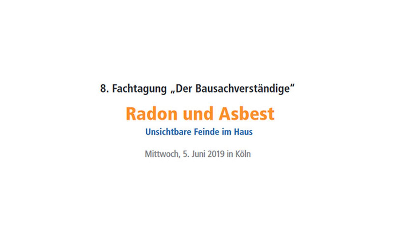 """GBA und biomess auf der 8. Fachtagung """"Der Bausachverständige"""""""