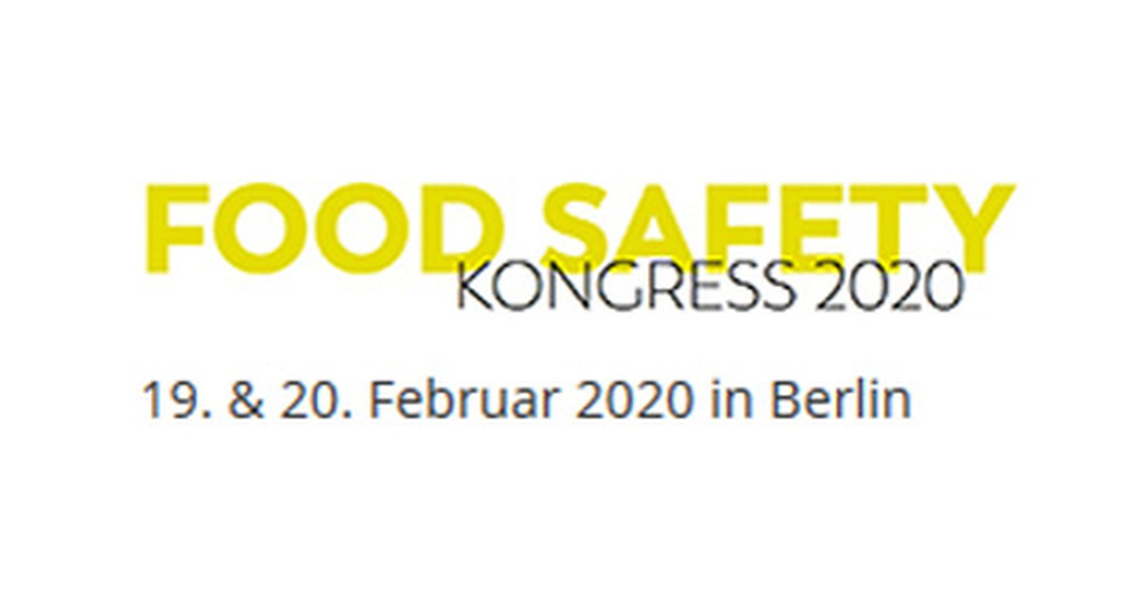 Food Safety Kongress