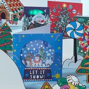 Pop-up & 3D Christmas cards