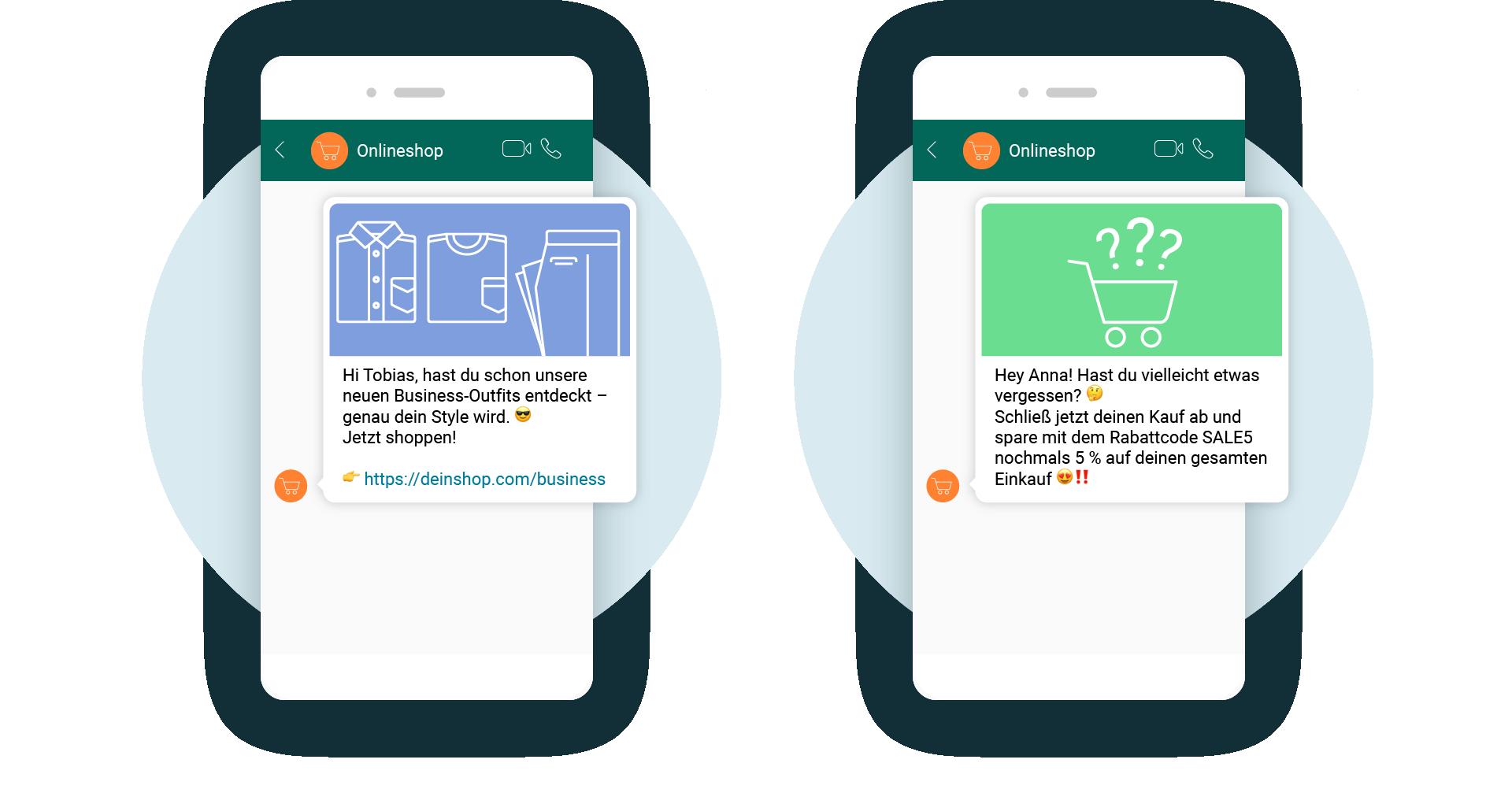 LINK Mobility - Einsatzbereiche von Non-Transactional Notifications mit WhatsApp