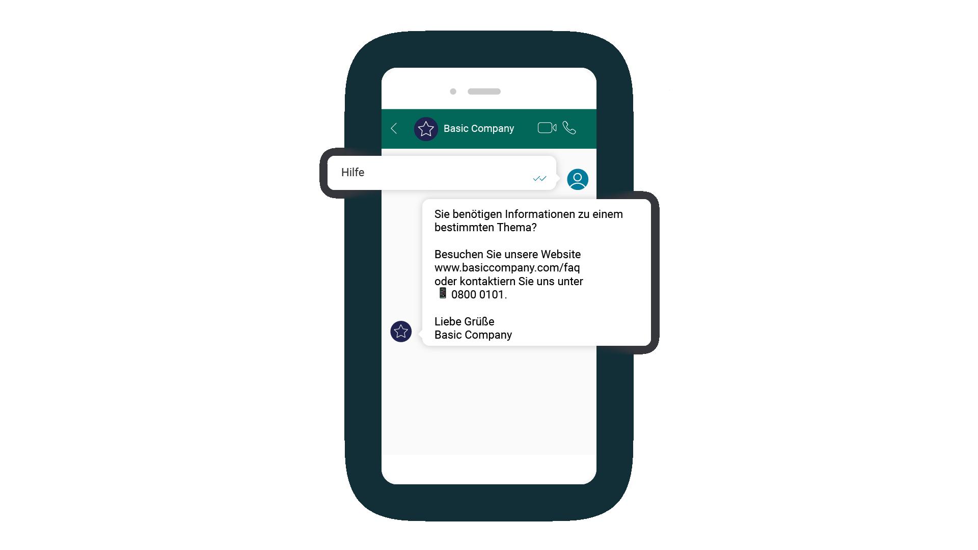 LINK Mobility - WhatsApp in Verbindung mit ChatBot bietet automatisierten Kundenservice