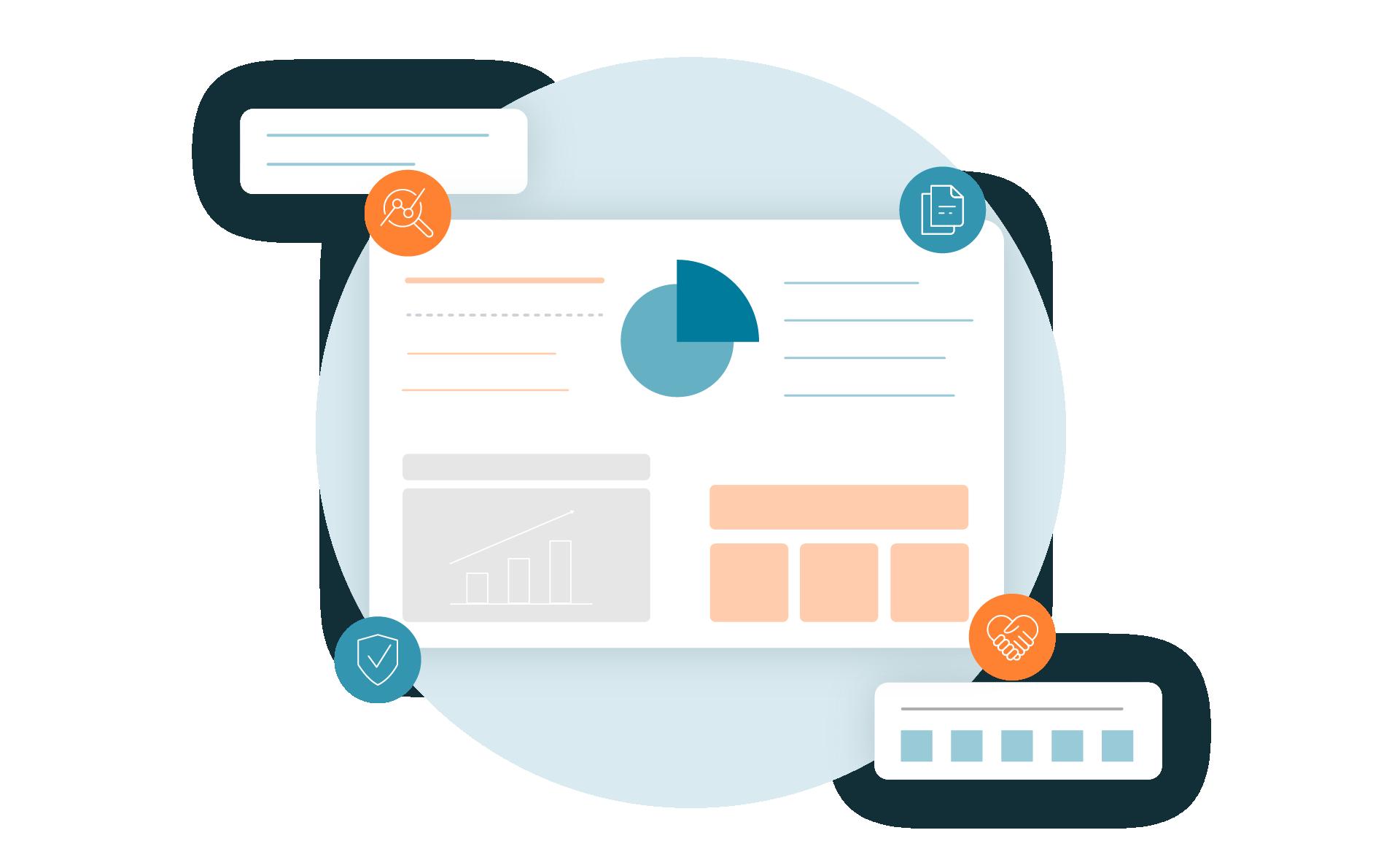LINK Mobility - Mit Tools, wie dem LINK Insight Dashboard, lassen sich alle gewonnenen Daten auswerten und analysieren, um Ihre RCS-Kampagnen stetig optimieren zu können.