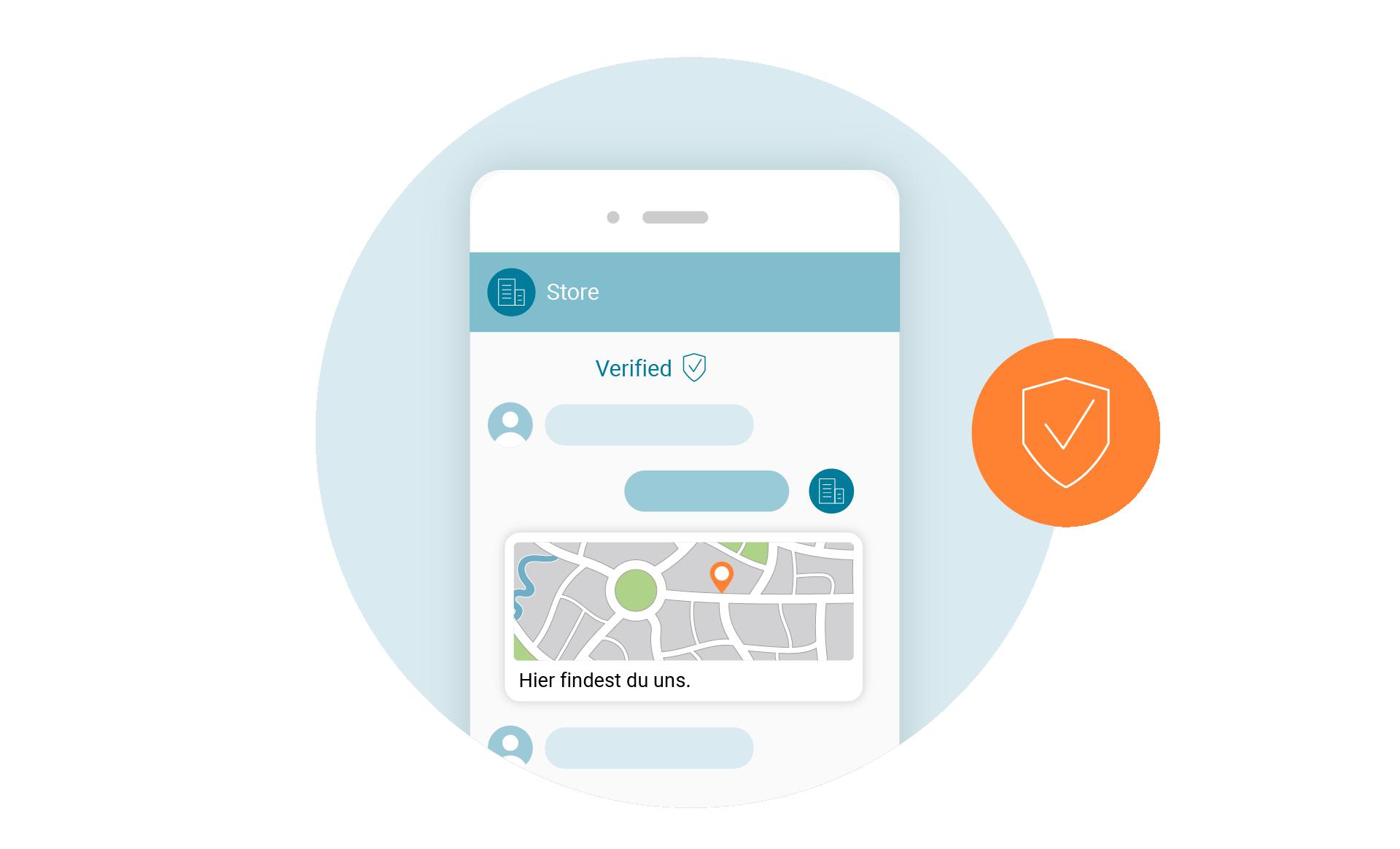 LINK Mobility - RCS-Verifizierung schafft Vertrauen beim Empfänger