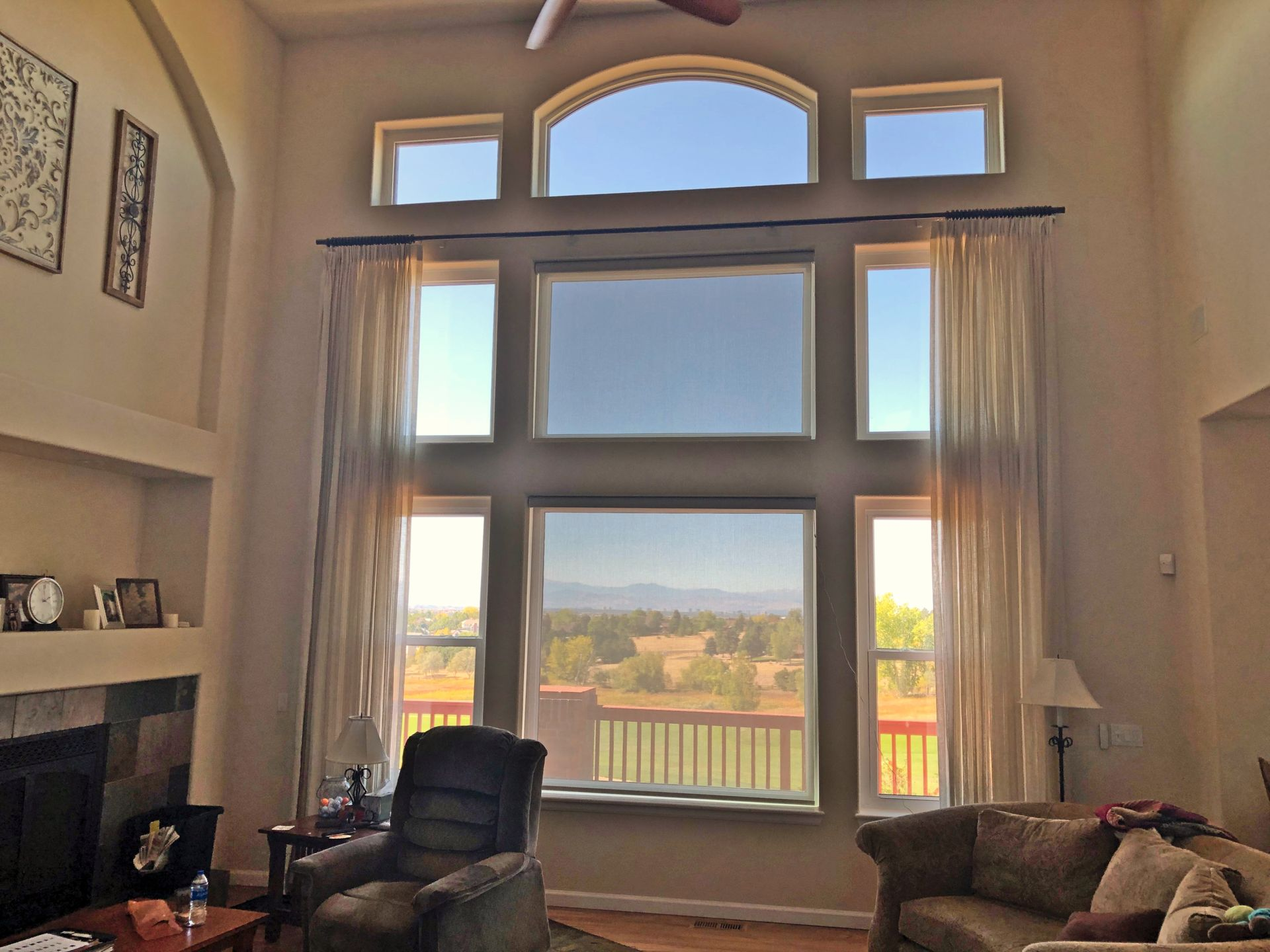 Enjoy Your Large Windows More With the Right Window Coverings ...