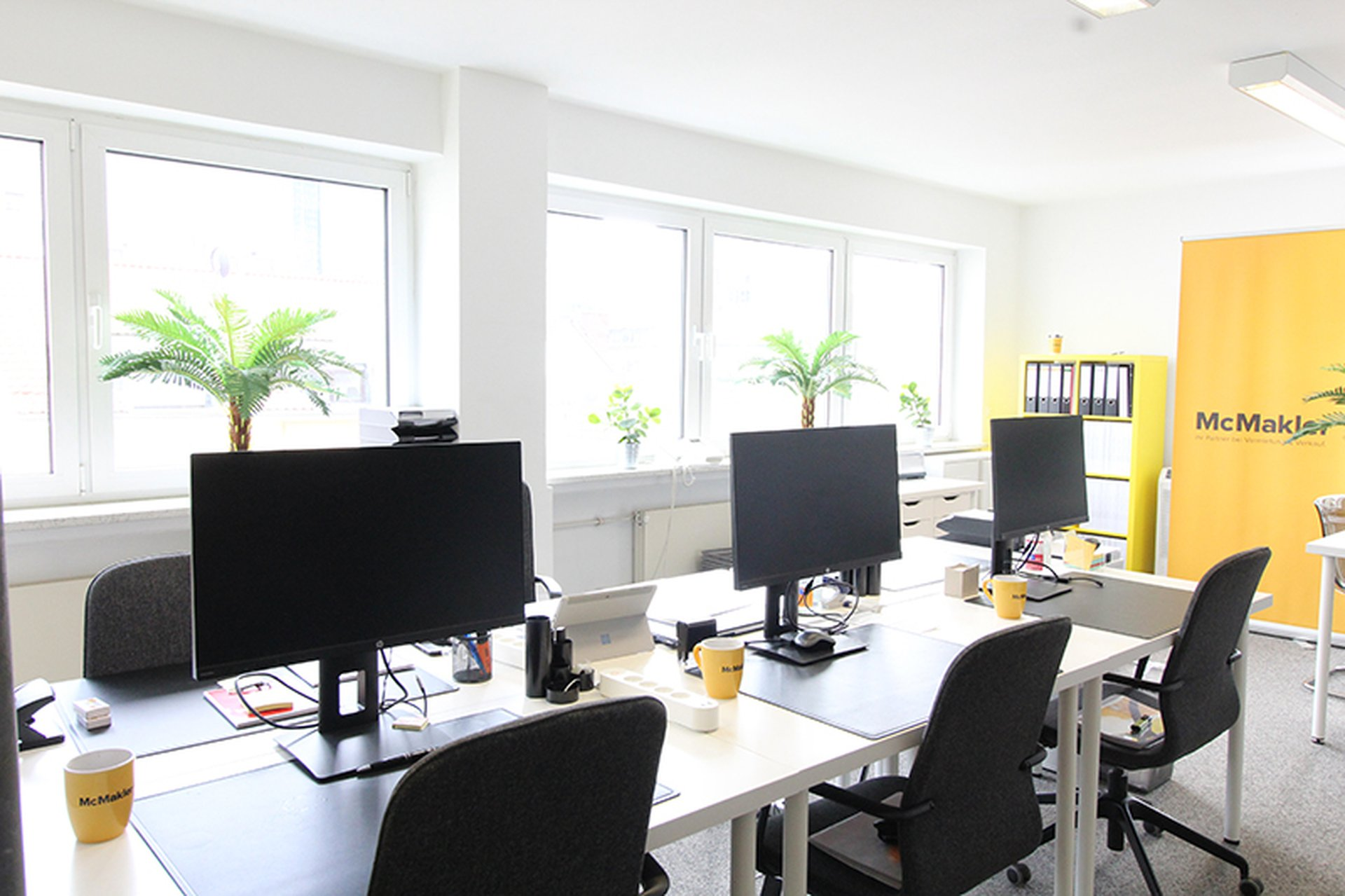 McMakler Büro in Frankfurt