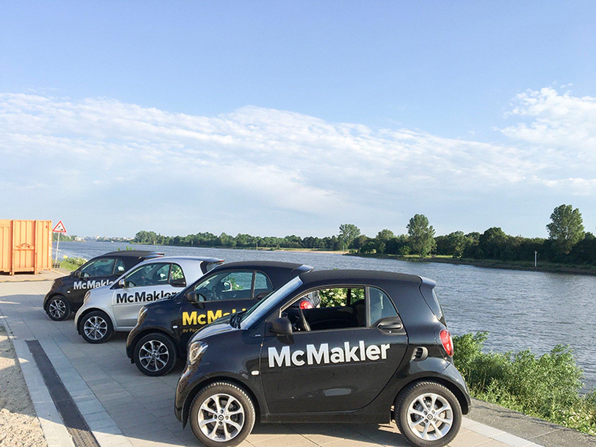 Der Fuhrpark von McMakler in Bremen