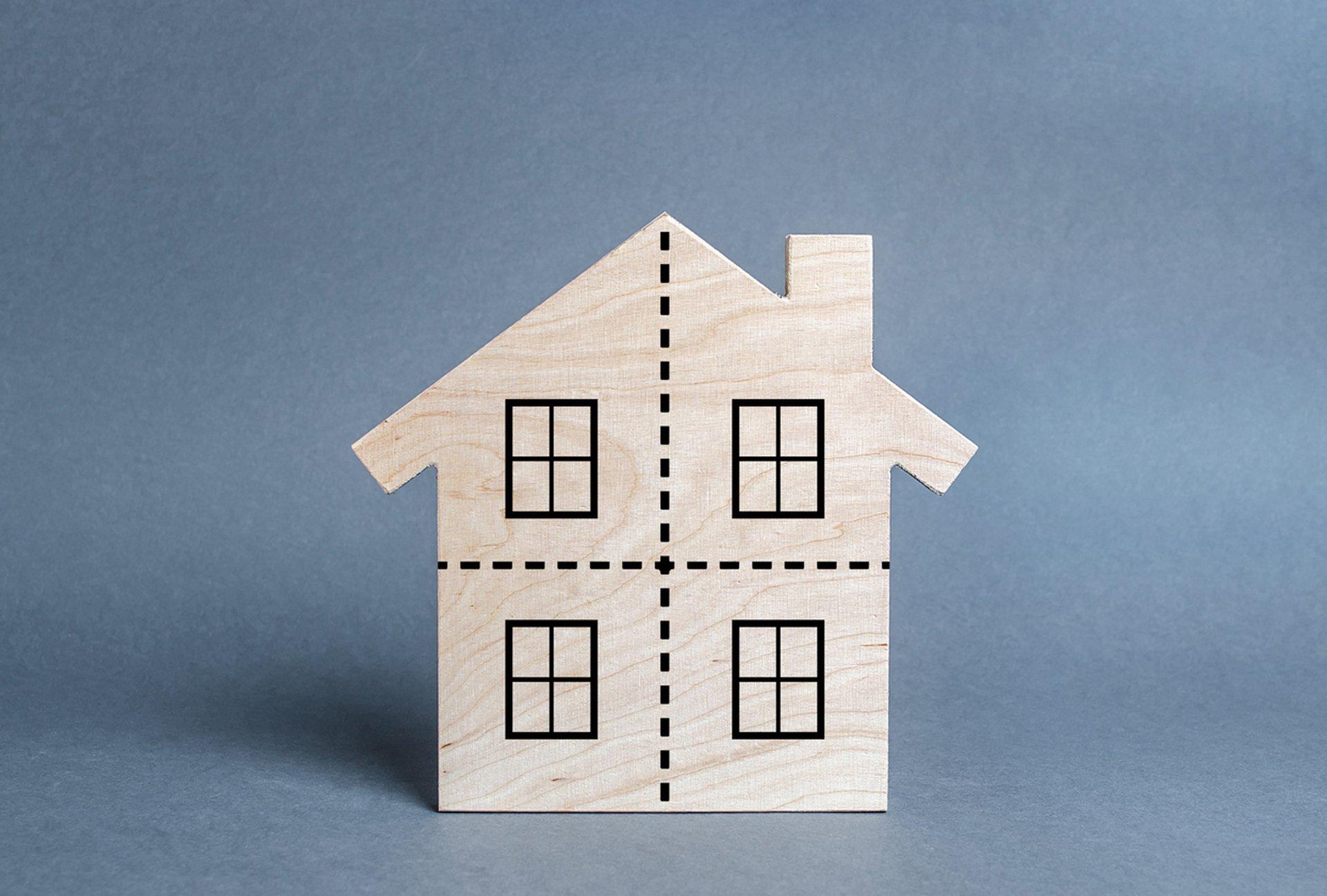Erbschaftssteuer: Geerbtes Haus aufteilen