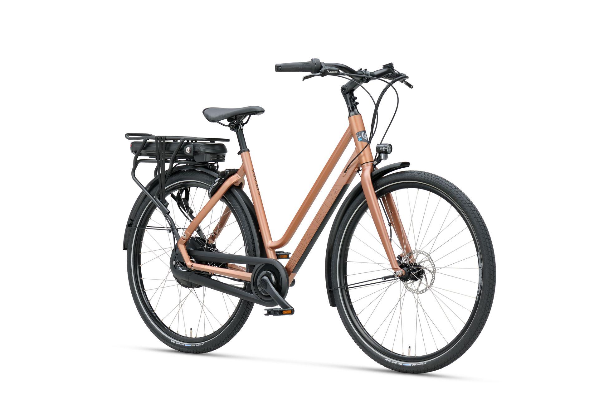 E-bike C-ready r5e van Sparta in bronzbrown voor dames