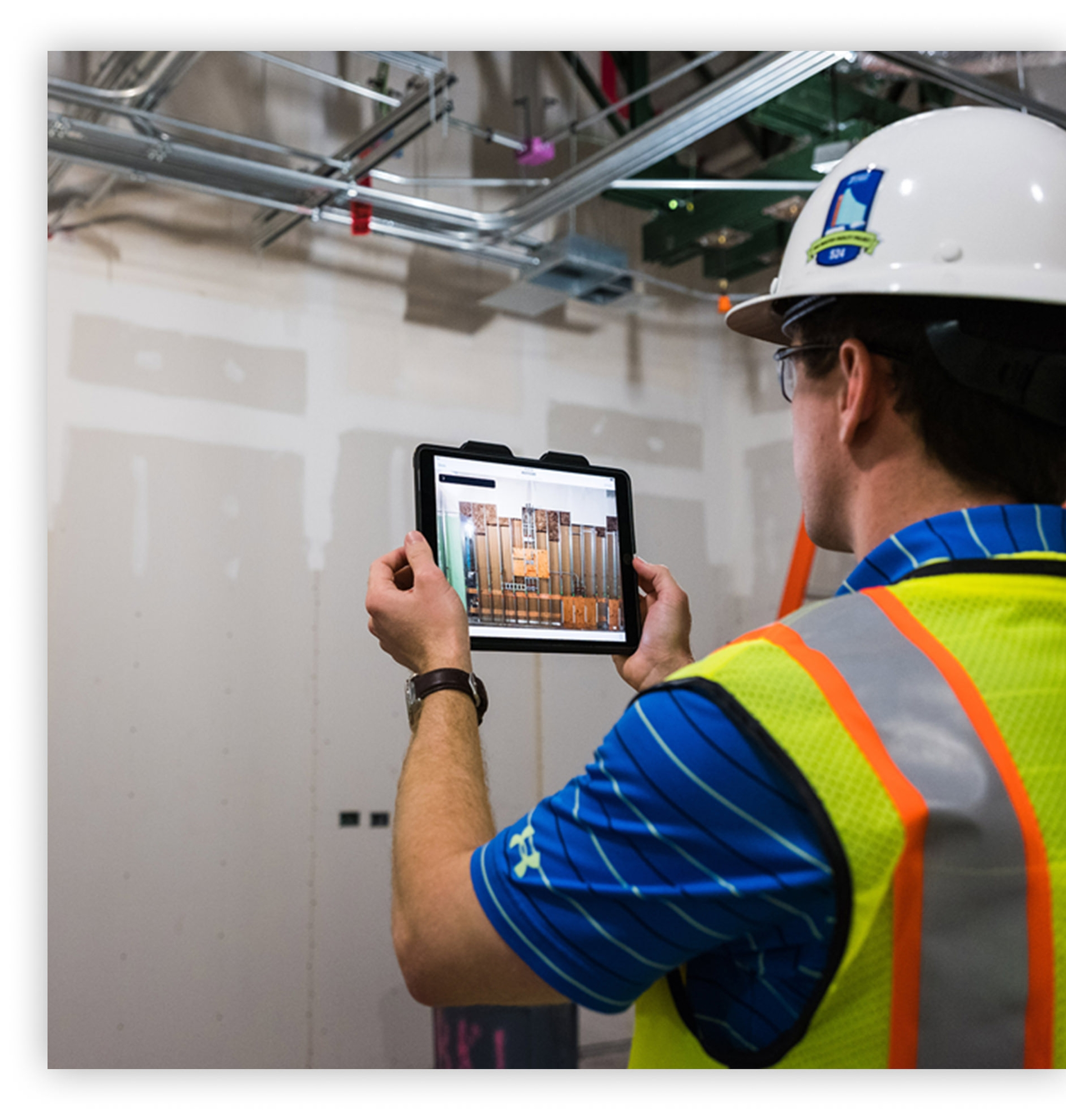 Autodesk used on plasterboards, painting, floors, finishing construction projects