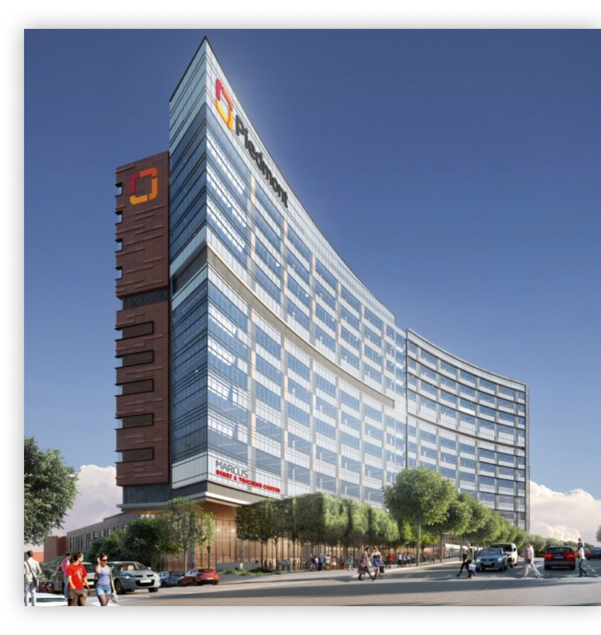 Atlanta Piedmont Hospital Construction by Brasfield and Gorrie with Autodesk