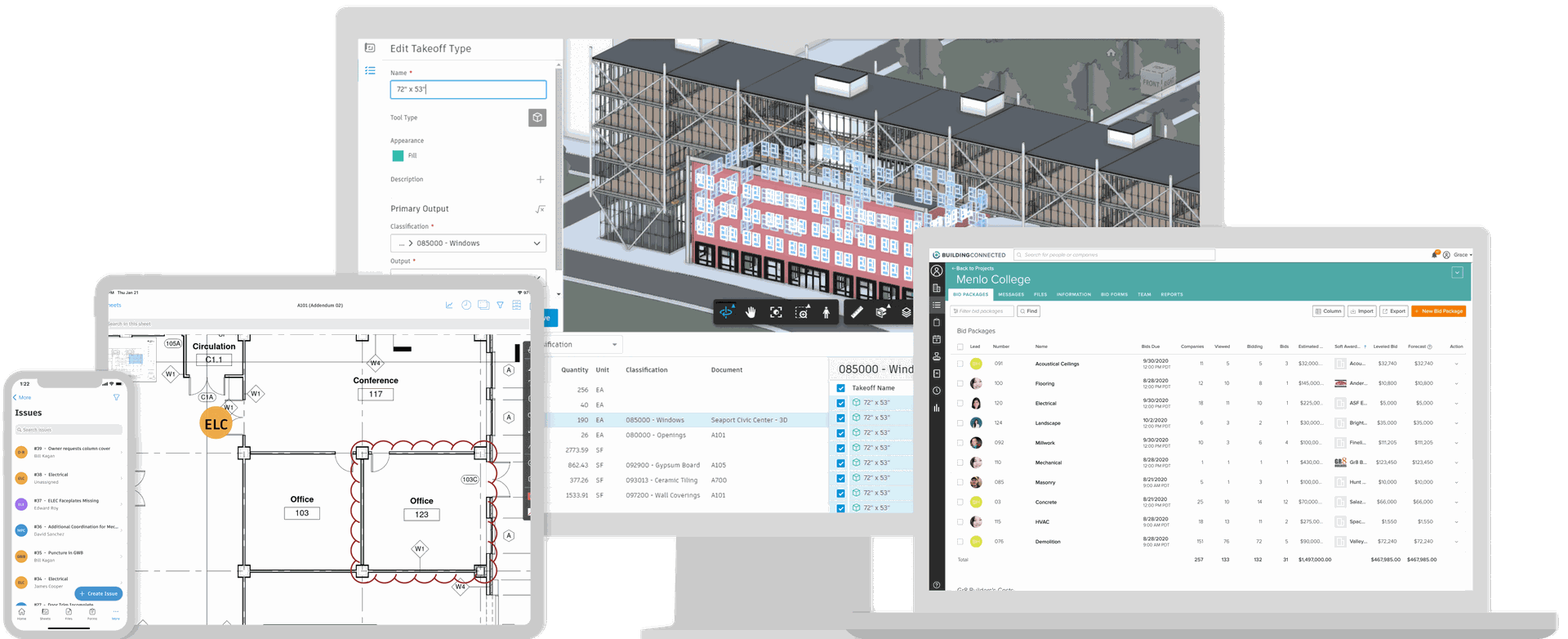 Autodesk Construction Cloud Differentiators- All Devices