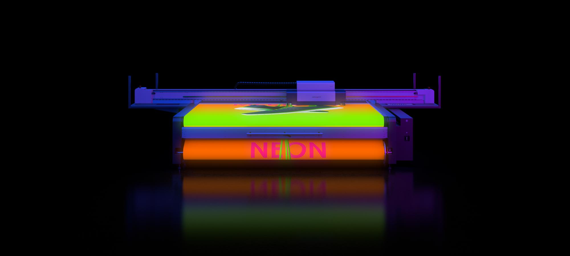 Neon swissqprint © swissQprint