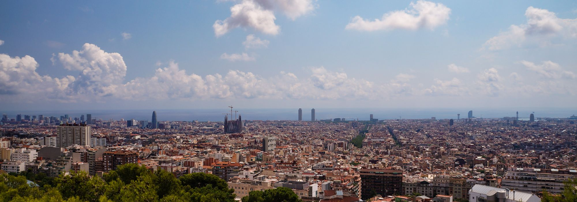Barcelona city centre