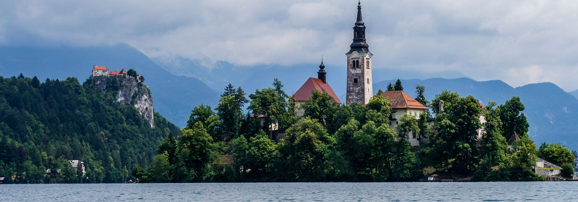 The monastery at Lake Bled