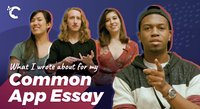 Video thumbnail of students naming tips for colleges app essay