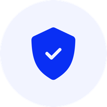 Shield with tick