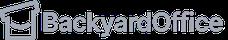 Backyard Office Logo in Gray