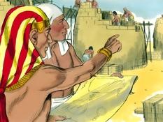 Jozef is onderkoning in Egypte, 9 Bijbelplaten voor het digibord, kleuteridee.nl , Bijbelles voor kleuters.