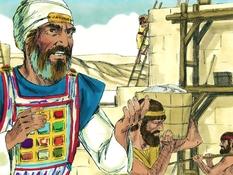 Nehemia en de Samaritanen, 22 Bijbelplaten voor het digibord, kleuteridee.nl , Bijbelles voor kleuters.