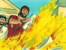Paulus in Efeze, 12 Bijbelplaten voor het digibord, kleuteridee.nl , Bijbelles voor kleuters.
