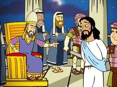 jezus-voor-kajafas-28-bijbelplaten-voor-het-digibord-kleuteridee-nl-bijbelles-voor-kleuters