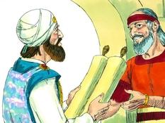 Koning Josia, 30 Bijbelplaten voor het digibord, kleuteridee.nl , Bijbelles voor kleuters.