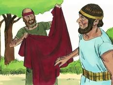 Jerobeam en Rehabeam, 24 Bijbelplaten voor het digibord, kleuteridee , Bijbelles voor kleuters