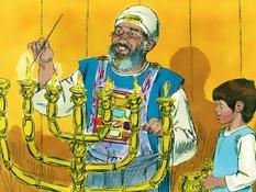 God spreekt tot Samuël, 20 Bijbelplaten voor het digibord, kleuteridee.nl , Bijbelles voor kleuters.