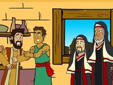 Paulus in Berea, 20 Bijbelplaten voor het digibord, kleuteridee.nl , Bijbelles voor kleuters.