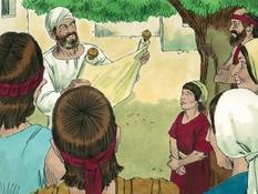 Koning Josafath en de wet van God, 12 Bijbelplaten voor het digibord, kleuteridee.nl , Bijbelles voor kleuters.