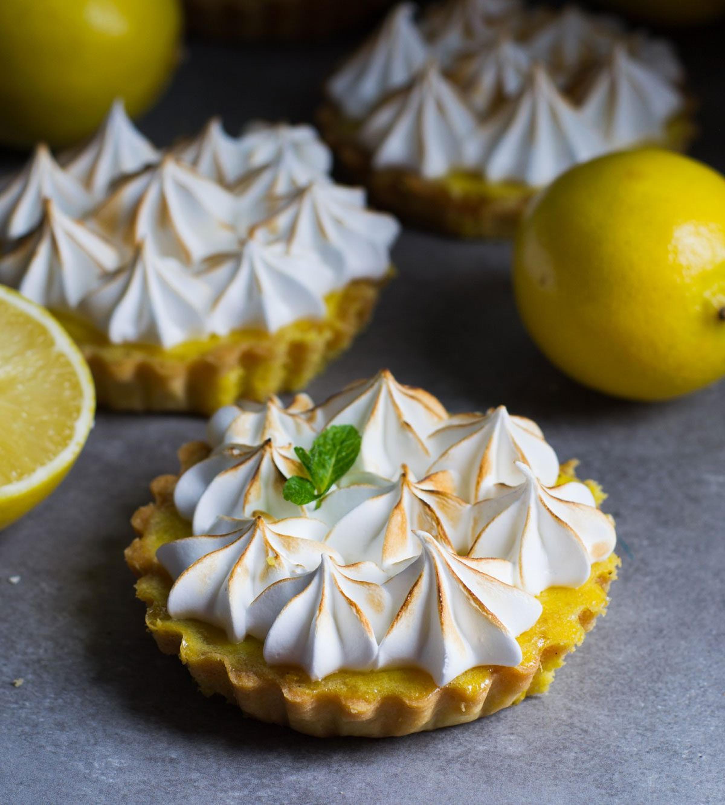 Mannerströms citronpaj med italiensk maräng