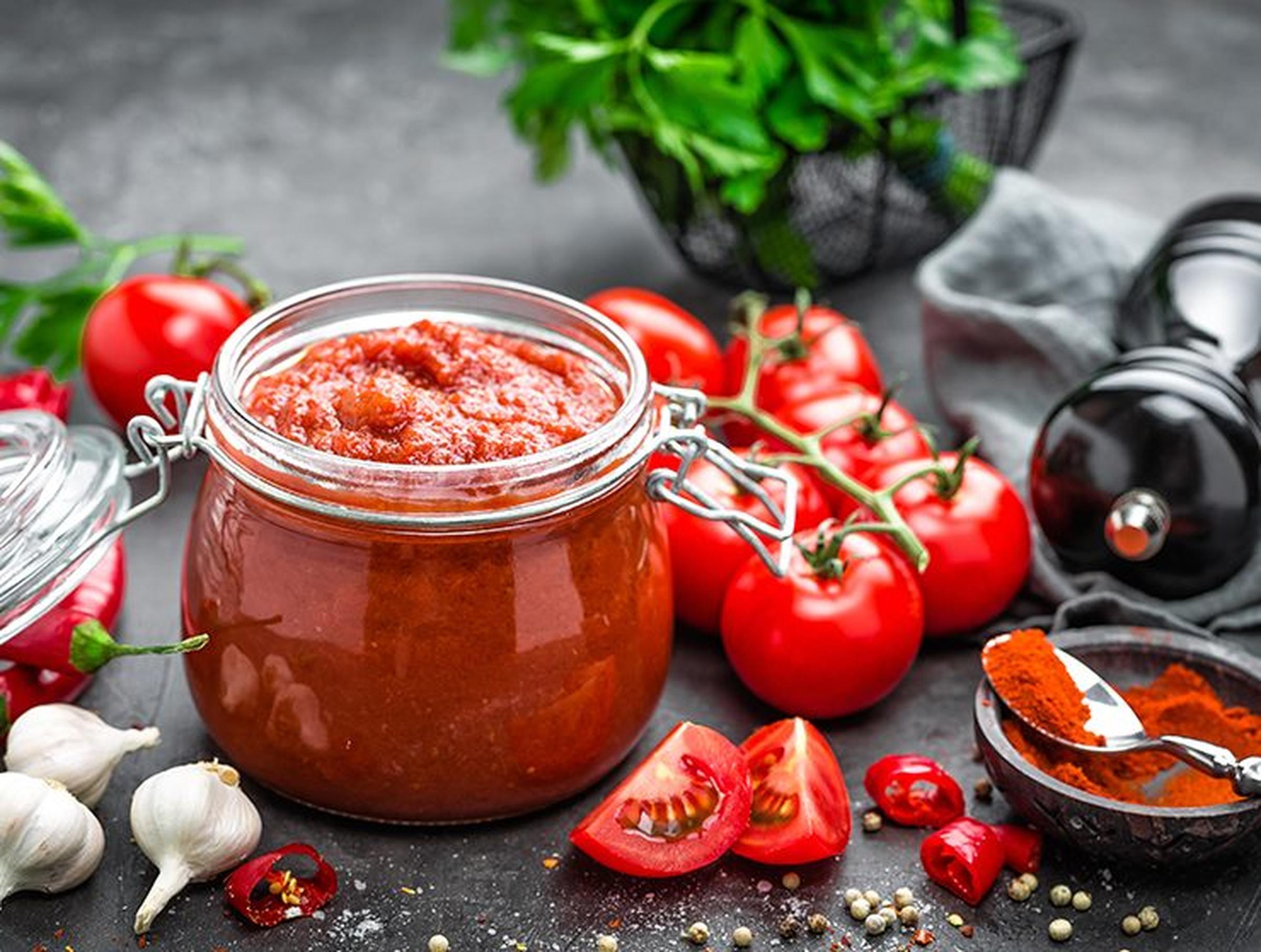 Grillad tomatsås