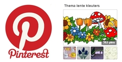 Pinterest juf Petra knutselen thema lente voor kleuters