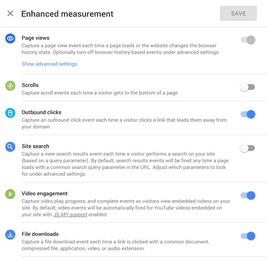 App and Webb Enhanced Measurement