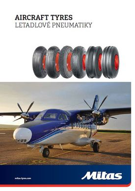 Aircraft tyre catalog