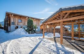 Outside view of Ayan accommodation in Morzine