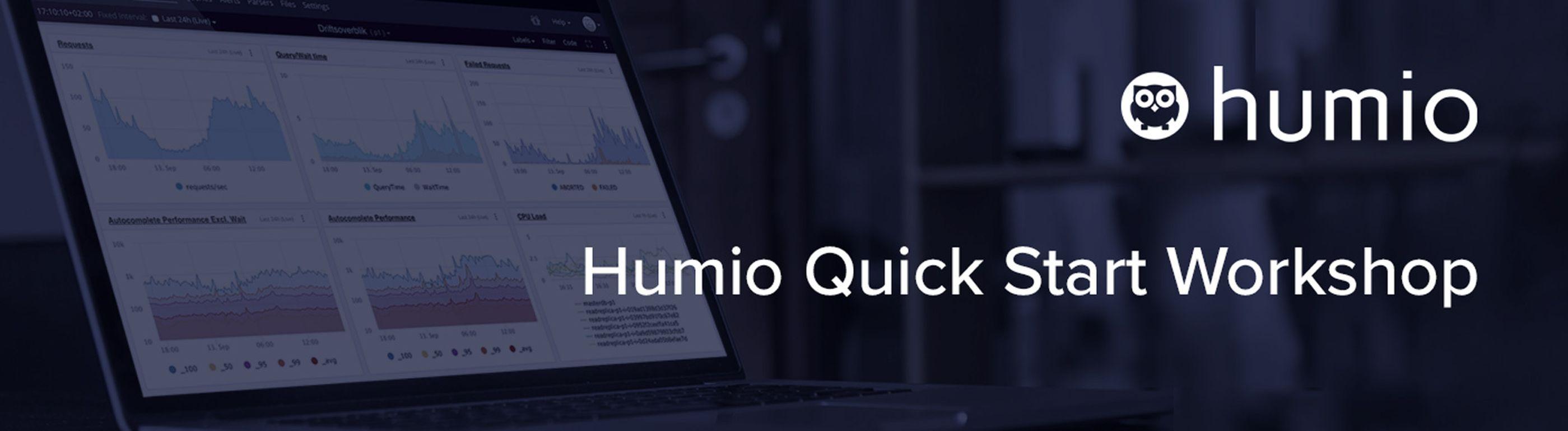 Humio Quick Start On-Demand