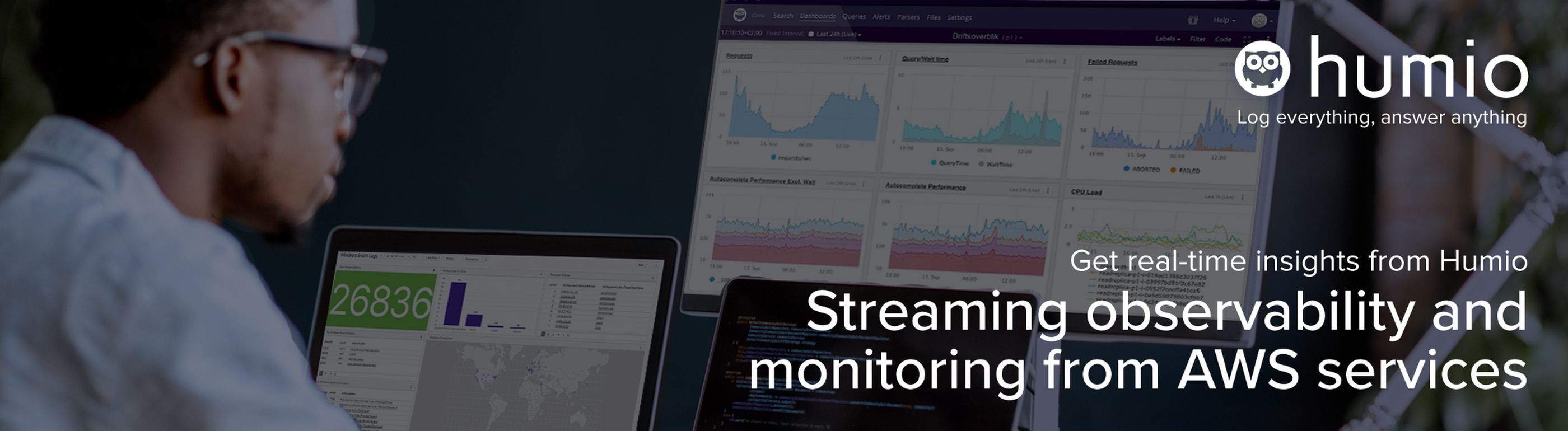 Streaming observability and monitoring from AWS services