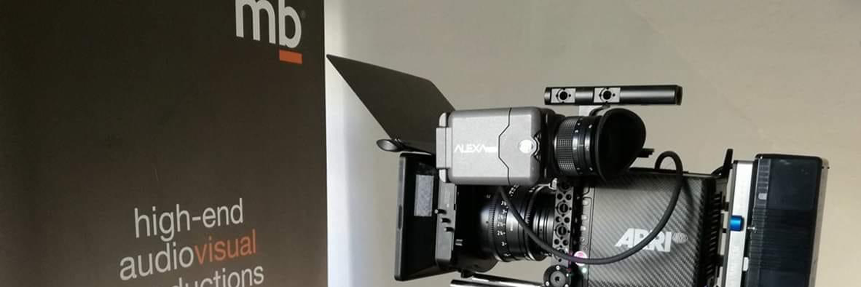 An Arri Camera at motion blur's office