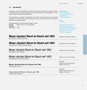 Corporate Design, CD-Manual, CD-Fonts, Neue Helvetica, Max Miedinger, Linotype, Yellow, Lawniczak Jean-Marie,