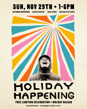 Holiday Happening Poster
