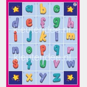 Bee-Bot mat letters, kleuteridee