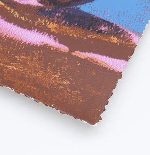 Detail of a print corner