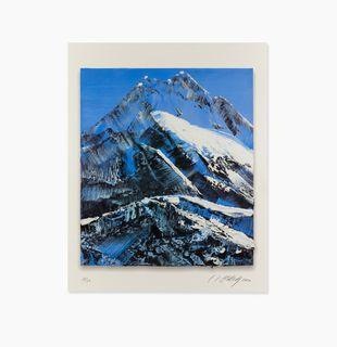 Snowy blue mountain, Nevertheless #9 by Conrad Jon Godly