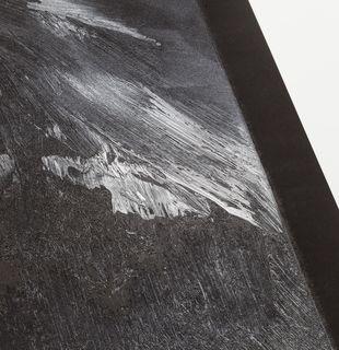 Black mountain landscape, Nevertheless #20 by Conrad Jon Godly